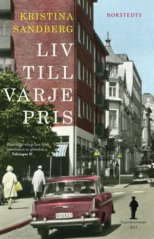 """Sandberg har skrivit en trilogi om Maj. Den sista delen """"Liv till varje pris"""" tilldelades Augustpriset 2014."""