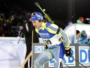 Tobias Arwidsson går all in på tävlingarna i Oberhof.