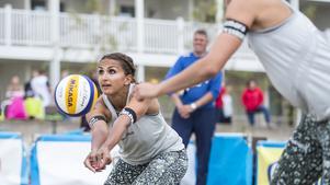Tadva Yoken under finalen i Falkenberg.