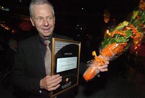 Anders Malm, årets företagare i Ovanåkers kommun.