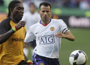 Jonathan Quartey har tidigare spelat mot spelare som Ryan Giggs.