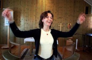Mari Lennholm har varit ledare för Björkbergskören i 20 år.