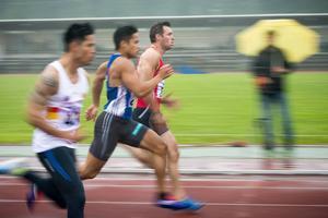 Simmaren som bytte till sprint; Sundsvalls Michael Gerlach.
