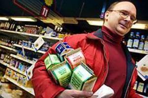 Foto: GUN WIGH Konsekvent kravköpare. Staffan Pira är stamkund på Hemköp.