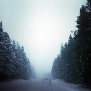 En bild från vägen mot Hudiksvall.