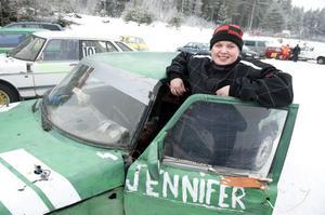 Borlänge MK:s kvinnliga folkracelöfte Jennifer Nilsson kunde glädjas över en fin tredjeplats i helgens tävlingar.
