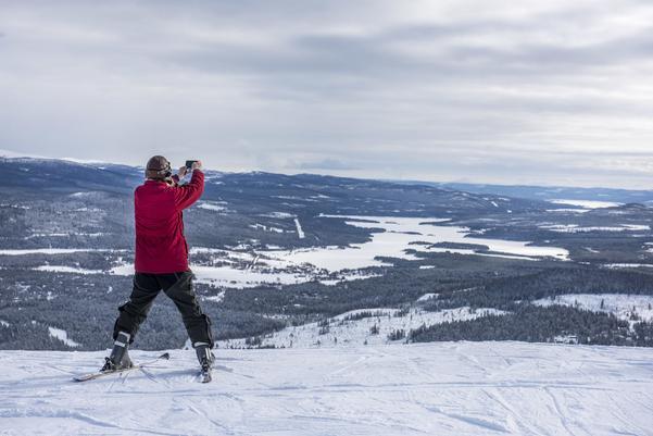 Utsikten från Funäsdalsberget, värd att bevara tycker många skidåkare.