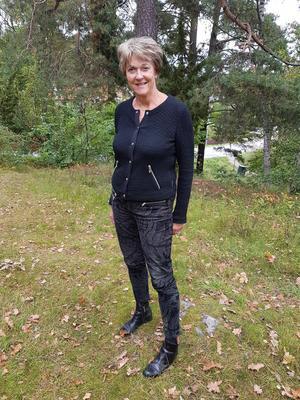 Katarina Wådell, ordförande i Arbrå-Undersviks vindkraftfond, tycker det inte är mer än rätt att bygden får del av vindkraftens produktion. – 300 000 är ju bara peanuts för dem, men för oss är det stort.