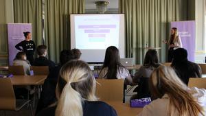 Sveriges Elevråd håller utbildningsdag på Studenternas Hus i Falun.