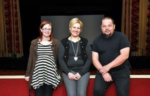 Från vänster: Jenny Olofsson, Johanna Andersson, Mats