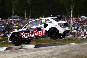 Mattias Ekström leder fortsatt rallycross-VM.