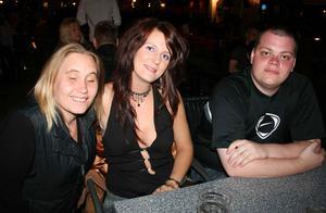 Bill och Bob. Malin, Kristin och Ricki
