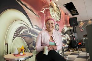 Krögaren Malin Överby drev Pink Ladies under många år. Bild: Jan Olby