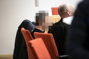 Läkaren vid häktningsförhandlingen i Falu tingsrätt.