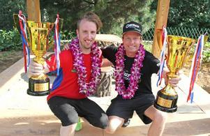 Patrik Sandell med co-driver Per Almkvist segrade i Rally Beijing.