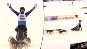 Pär och Annika Jansson nöjda som tvåa och trea över mållinjen.