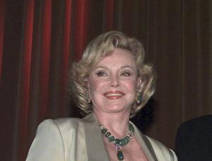 Frank Sinatras fjärde hustru Barbara Marx, som han gifte sig med 1976.