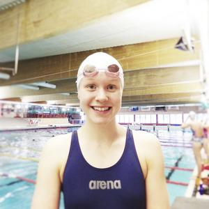 Hannah Brunzell tog två medaljer i EM.