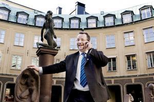 Kavajkär. Olle Thorell (S), Surahammar, riksdagsledamot och ordförande för partidistriktet i Västmanland.