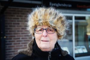 Vilken typ av butik är viktigast för centrum?Berit Ångman, 76, pensionär, Nykvarn.– För oss pensionärer är det viktigt med matbutik i centrum. Det blir svårt att ta sig till affären annars. Fast det borde inte bara vara en butik, utan två.