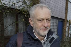 Jeremy Corbyn, Labous partiledare. Foto: Tim Ireland/AP Photo