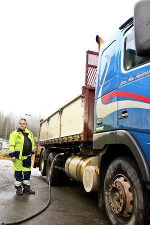 Åkeriägaren Lars-Åke Andersson tror att flera företag skulle gynnas av en gruva.