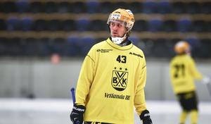 Robin Folkesson förra säsongen i Vetlanda.