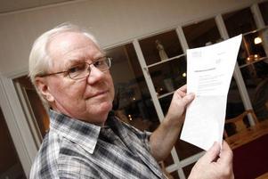 Göran Skoglund är en av de Gävlebor som i dagarna fått ett kontrakt från Göta Energi i brevlådan.