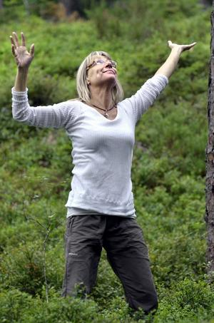 Naturligt. Dansen ger inspiration och energi tycker Eva Lundin.