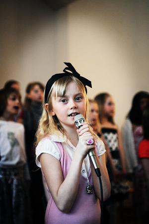 Alexandra Olofsson var en av många solister.