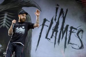 In Flames.    Foto: Claudio Bresciani/TT