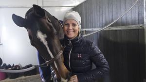 Arbogaryttaren Stina Lillje och sjuårige Rihanna K imponerade vid Göteborg Horse Show.