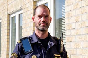Fredrik Martens, gruppchef vid polisen Hudiksvall.