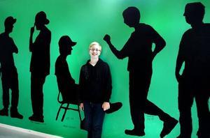 FÖRSTA DAGARNA. Daniel Ekman Hedberg har börjat årskurs ett och varit med och skapat bilden, han är killen som springer till höger.
