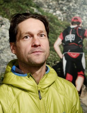 Patrik Nordin arrangerar Axa fjällmaraton som genererar 12 000 gästnätter i området.