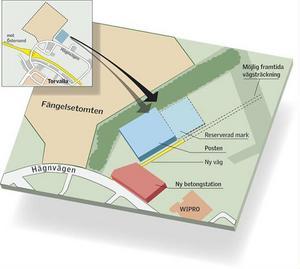 Posten vill flytta dit. Och betongstationen i Odenskog. Den gamla fängelsetomten i Verksmon är på väg att bli ett nytt industriområde i stan.