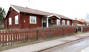 Bengan Jansons timmerstuga mitt i Leksand.