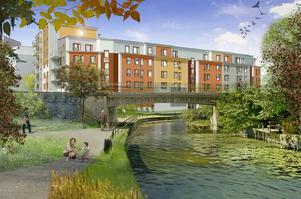 JM ska bygga bostäder där Norrtäljes gamla badhus står i dag. Om allt går enligt planerna blir det inflyttning till sommaren 2016.