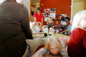 Barn på förskolan Hagen i Svenstavik, Berg, som drabbas av utjämningssystemet.