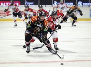 Jörgen Sundqvist blir den fjärde backen i Brynäs som tvingas kasta in handduken i matcherna mot Leksand.