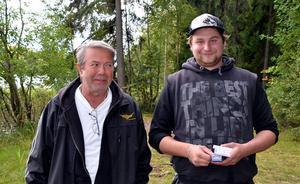 Två i tävlingen kom team Västerby SP med Sören Sjöns och Jimmy Persson som drog upp totalt 7,1 meter gädda ur Viggen under söndagen.