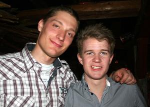 Konrad. Tobias och Mattias
