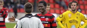 I dag blev det klart att Ibrahim Tetteh Bangura blir allsvensk i AIK nästa säösong. Han har skrivit på ett treårskontrakt med Solnaklubben.