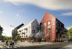 I våras vann Svenska Studenthus, som ingår i K2A-koncernen, tävlingen om det nya bostadsområdet i Kungsbäck, strax väster om högskoleområdet. Det handlar om runt 400 bostäder, varav större delen för studenter.