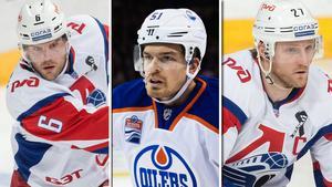 Patrik Hersley, Anton Lander och Staffan Kronwall är tre spelare som kan missa OS.