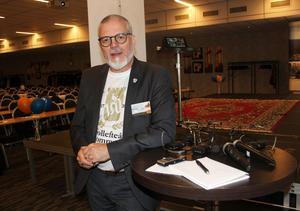 Thomas Östlund. Näringslivsutvecklare i Sollefteå ser ljust på 2020.