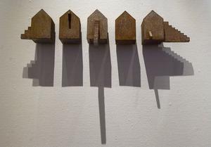 Gunnar Carl Nilsson, Liten byggnad, svetsad plåt. Foto: Lars Sundin