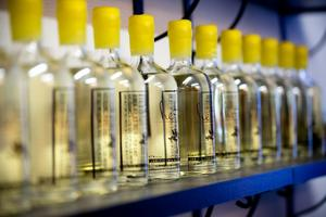 Hernö brenneri producerar gin och är det mest sålda beställningsginet hos Systembolaget.