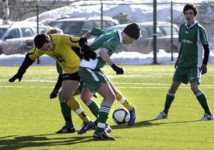 Ett tappert Hälsingland föll i Cup Byggnads semifinal för P93-lag mot Västergötland med 0–4.
