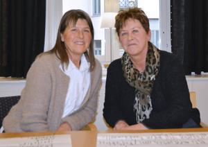 Monica Bjarnhagen och Gunhild Sjölander är legitimerade psykoterapeuter och instruktörer i mindfulness i Sundsvall.